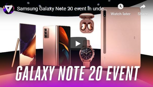 How Did Samsung Galaxy Note 20 Event in Under 9s Become the Best Find Out.