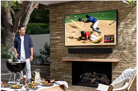 Samsung announces a TV to watch on the terrace of your house