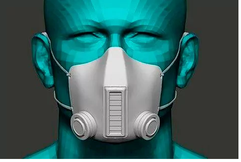 The mask made in Spain that promises to eliminate the virus with UV-C rays while breathing