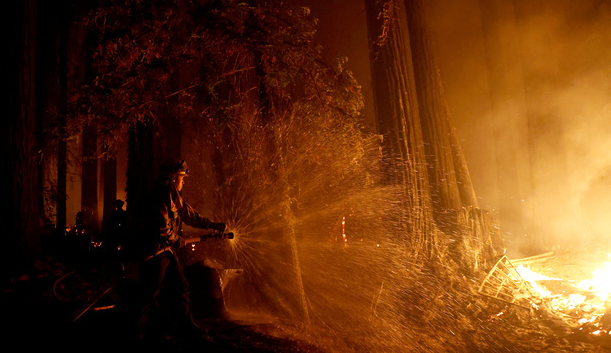 The 560 fires burning in California, in pictures