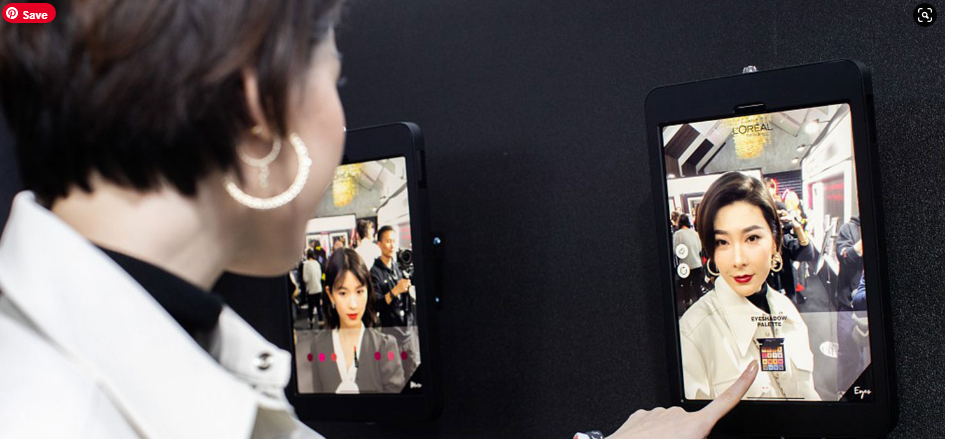 Beauty tech, digital cosmetics is personalized and reinvents experiential retail