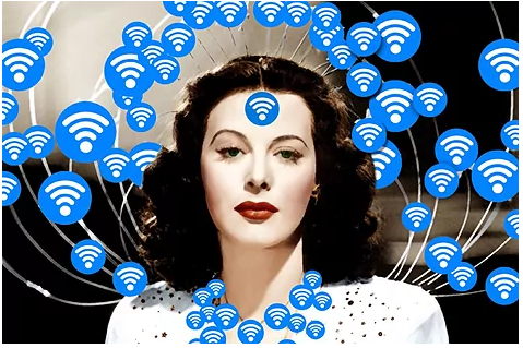 Hedy Lamarr, the Hollywood actress who invented WiFi