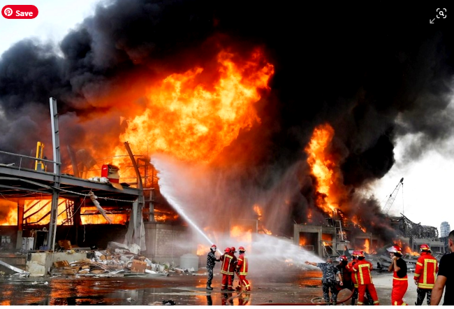 New fire in the port of Beirut a month after the big explosion