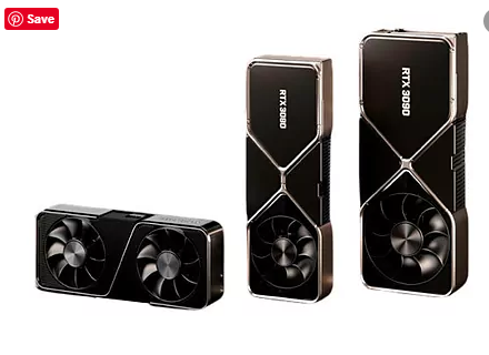 Nvidia presents its new graphics cards, with the very cheap RTX 3070 and a huge RTX 3090