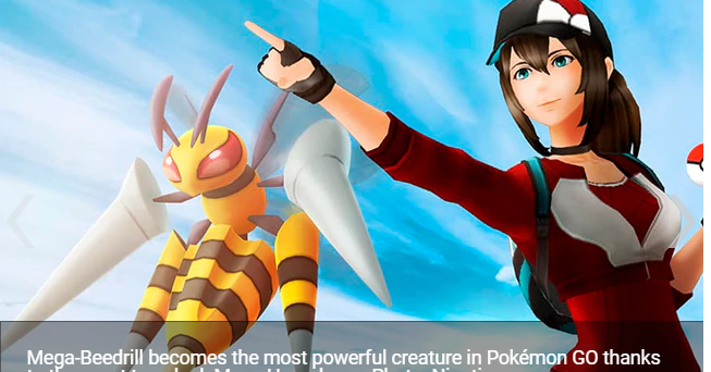 Pokémon GO Beedrill the first pokémon to break the 10,000 PC fence in the game