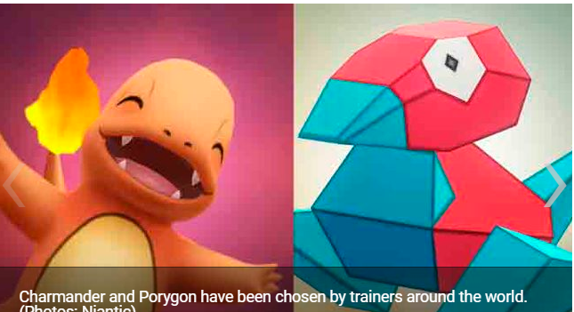 Pokémon GO Charmander and Porygon will be the protagonists of the next Community Day
