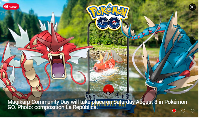 Pokémon GO Magikarp Community Day Did you manage to register shiny Gyarados with his new Legacy attack