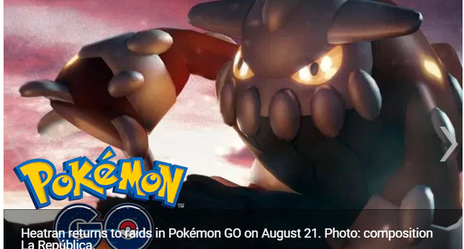 Pokémon GO Niantic confirms Shiny Heatran's return to Tier 5 raids