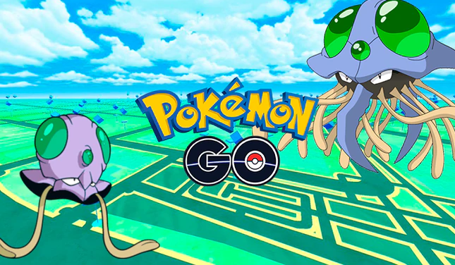 Pokémon GO Tentacool stars on the day of the featured pokémon and so you can get it in shiny