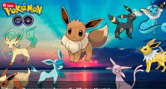 Pokémon GO how to capture Eevee and have its evolutions in the Hour of the Featured Pokémon