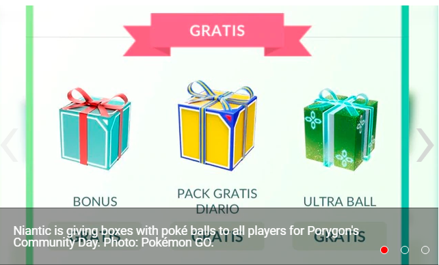 Pokémon GO how to claim the boxes with poké balls that Niantic gives away for Porygon's Community Day