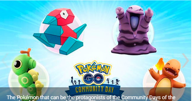 Pokémon GO how to vote for the candidate Pokémon for Community Day