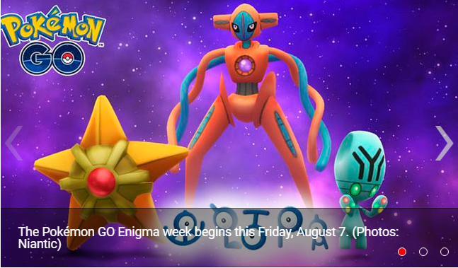 Pokémon GO list confirmed with all the Pokémon that will appear in the week of the Enigma
