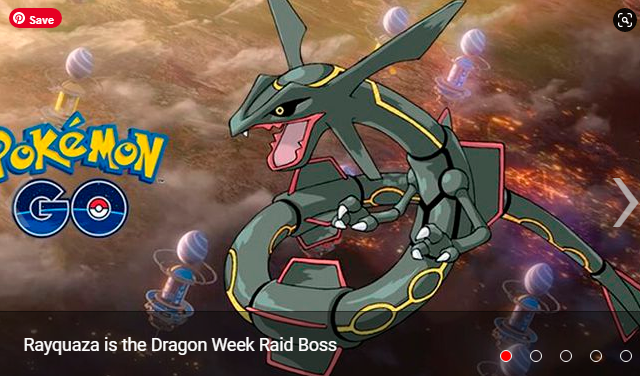 Pokémon GO meet the best Pokémon to beat Rayquaza in the week of the Dragon