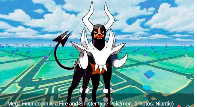 Pokémon GO starts a global challenge to unlock Mega-Houndoom