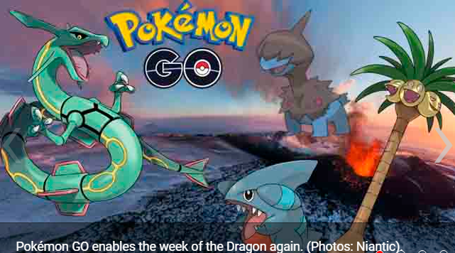 Pokémon GO the week of the Dragon returns with new temporary investigations