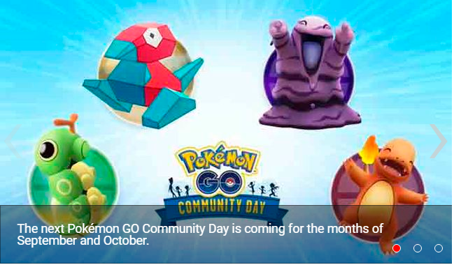 Pokémon GO these are the Pokémon candidates for the next Community Day-