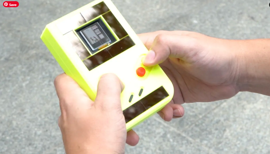 The Game Boy that doesn't need a battery to run forever