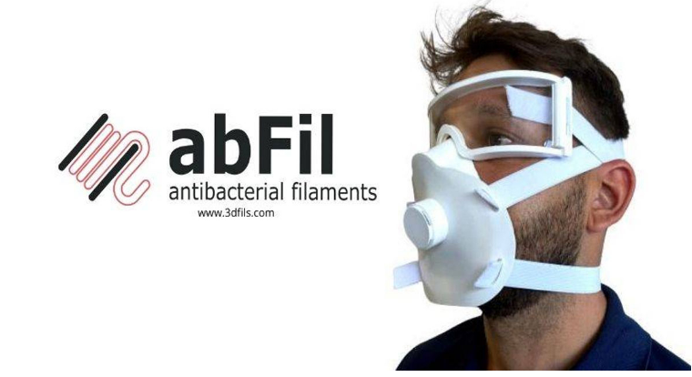 This Spanish startup develops antibacterial filaments for 3D printing against Covid-19