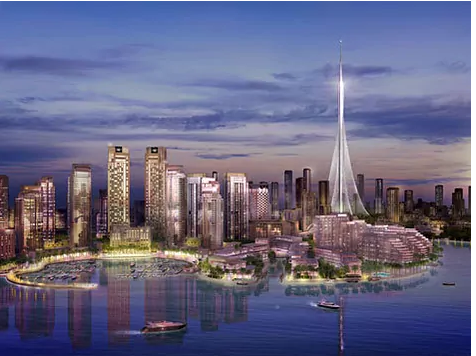 This will be the new tallest building in the world, designed by Santiago Calatrava in Dubai