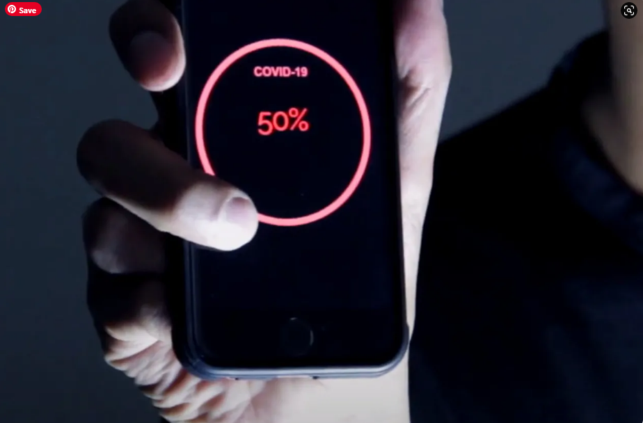 What if there was an app that could calculate the percentage of people with coronavirus in a place.