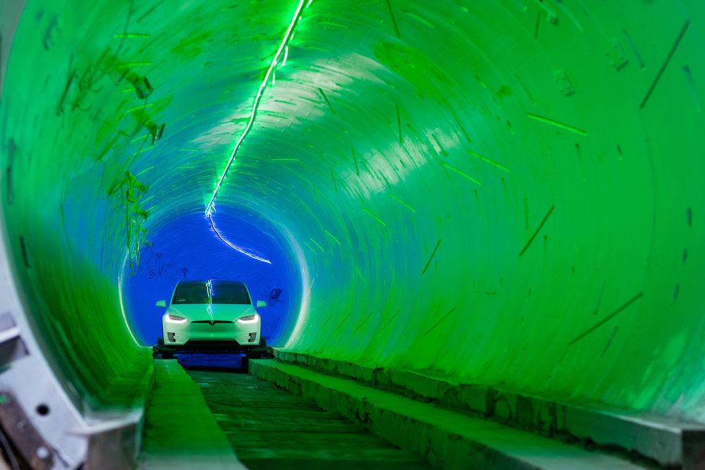 Las vegas tunnel